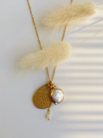 Collier perle naturelle