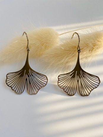 Boucles d'oreilles argentées