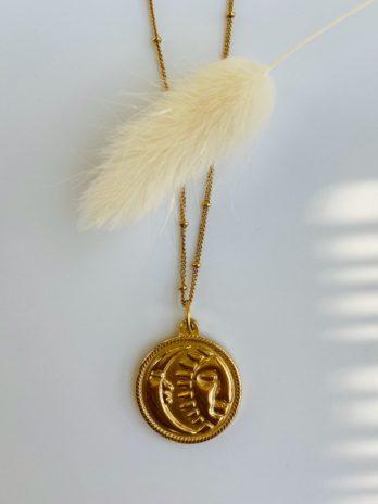 Collier dorée