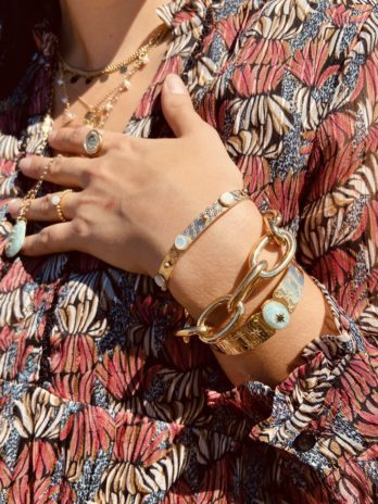Bracelet doré sun beach