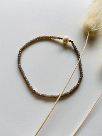 Bracelet duo de perles