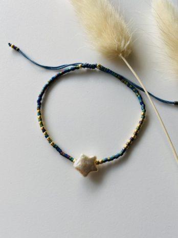 Bracelet étoile et perles