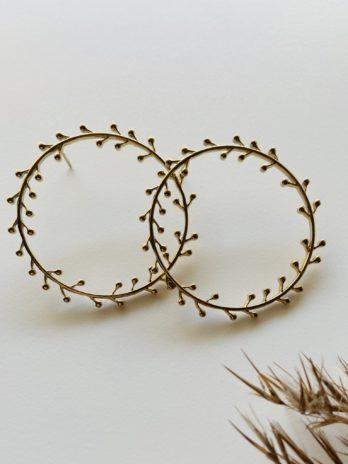 Boucles d'oreilles pampa couronnes épis