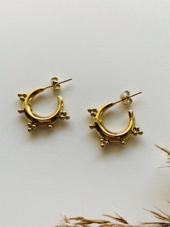 Boucles d'oreilles pampa créoles typés