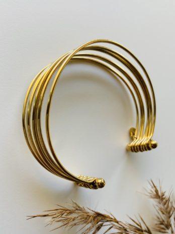 Bracelet doré pampa semainier