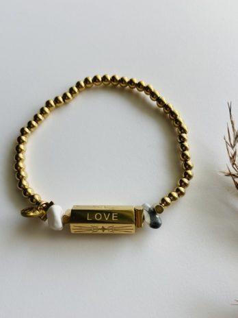 Bracelet doré pampa charm